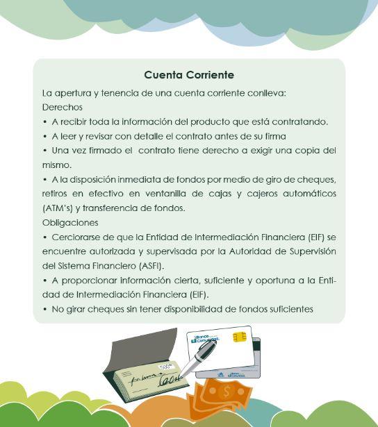 Derechos y Obligaciones en las Cuentas Corrientes